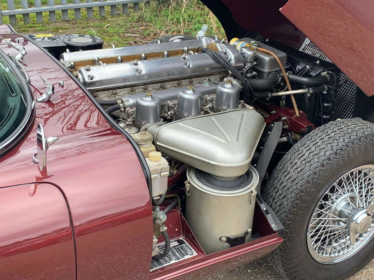 1965 Jaguar E Type S1 4.2 DOHC Coupe ( Fully Restored ) Manual For Sale (picture 4 of 6)