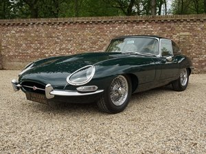 1964 Jaguar E-Type 3.8 Series 1 Coupé 5-Speed, splendid condition