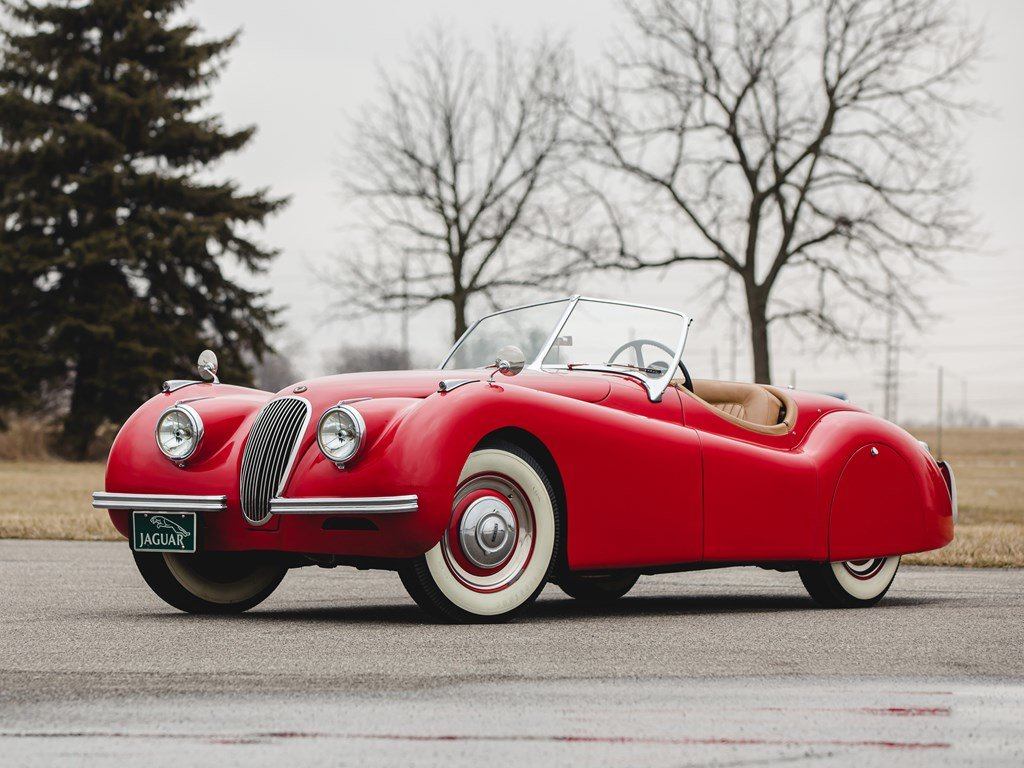 1950 Jaguar XK 120 Roadster  For Sale by Auction (picture 1 of 6)