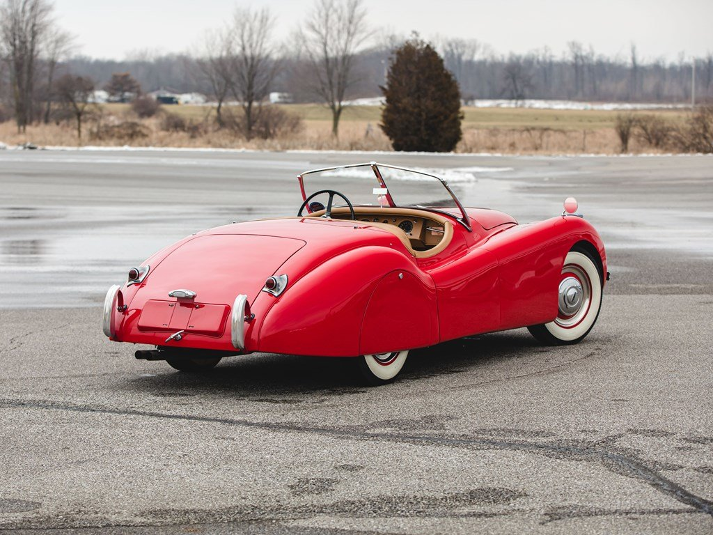 1950 Jaguar XK 120 Roadster  For Sale by Auction (picture 2 of 6)