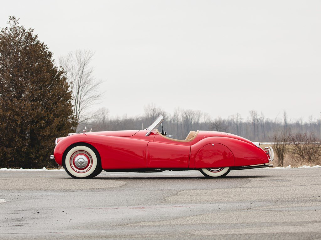 1950 Jaguar XK 120 Roadster  For Sale by Auction (picture 5 of 6)