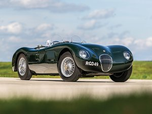 1956 Jaguar C-Type Replica by Peter Jay Engineering For Sale by Auction