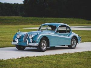 1955 Jaguar XK 140 MC Fixed Head Coupe  For Sale by Auction