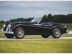1957 Jaguar XK 140 Roadster  For Sale by Auction