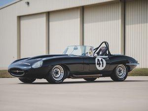 1962 Jaguar E-Type Series 1 3.8-Litre Race Car  For Sale by Auction
