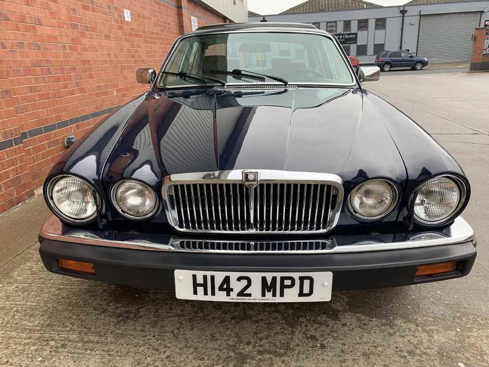 1990 Jaguar XJ12 Vanden Plas For Sale by Auction   Car And Classic