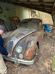 1957 Jaguar xk 140 fhc, fantastic Barn find!