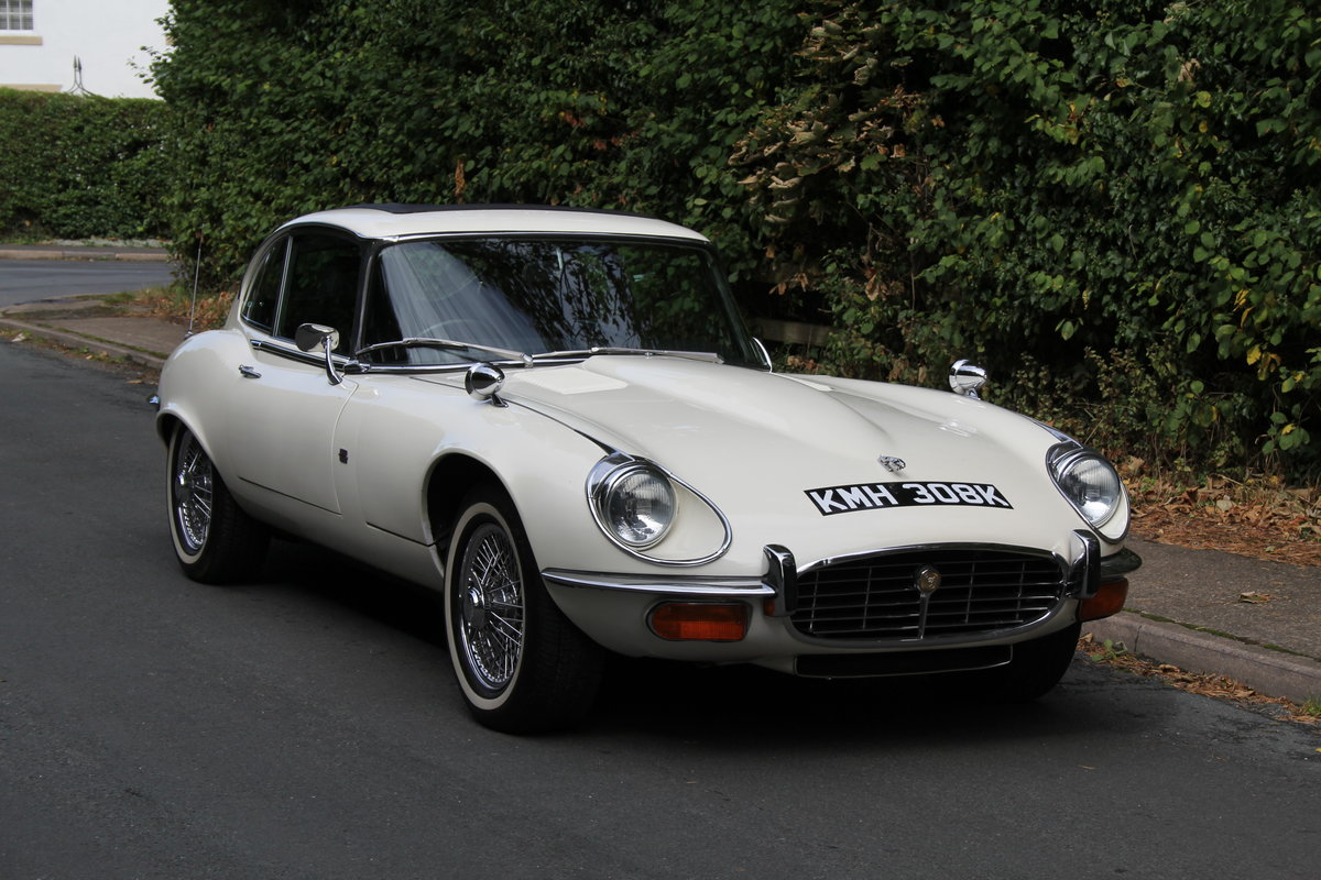 1972 Jaguar E-Type Series III V12 Auto - 70k miles, UK car For Sale (picture 1 of 20)