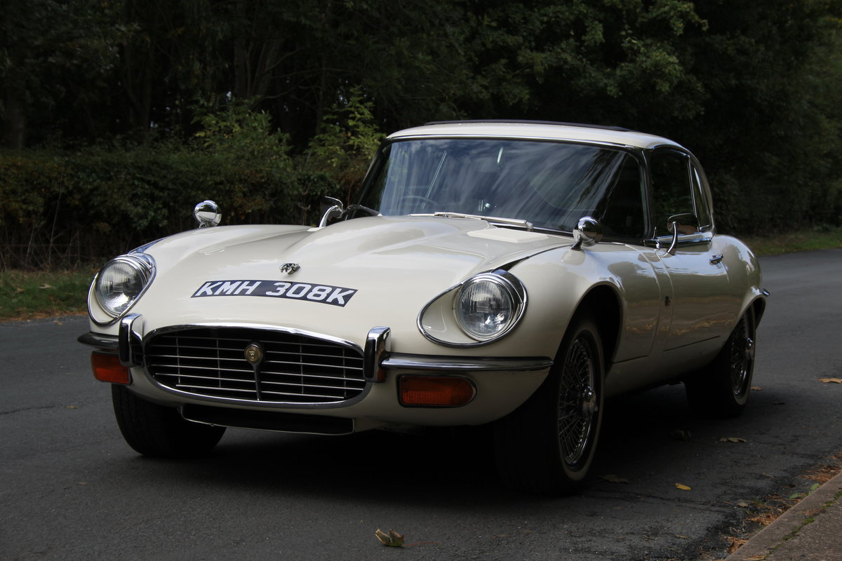 1972 Jaguar E-Type Series III V12 Auto - 70k miles, UK car For Sale (picture 3 of 20)