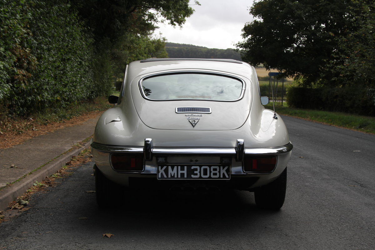 1972 Jaguar E-Type Series III V12 Auto - 70k miles, UK car For Sale (picture 5 of 20)