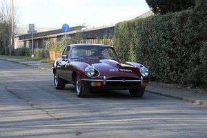 1969 Jaguar E-Type Series II 4.2 FHC, Full Restoration 2013