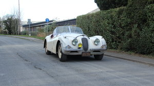 1954 Jaguar XK120 Roadster, Incredibly Original, Race History