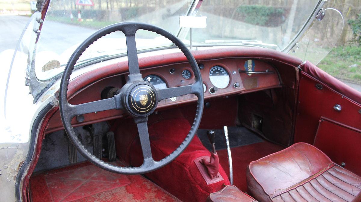 1954 Jaguar XK120 Roadster, Incredibly Original, Race History For Sale (picture 8 of 19)