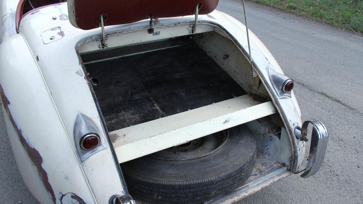 1954 Jaguar XK120 Roadster, Incredibly Original, Race History For Sale (picture 17 of 19)
