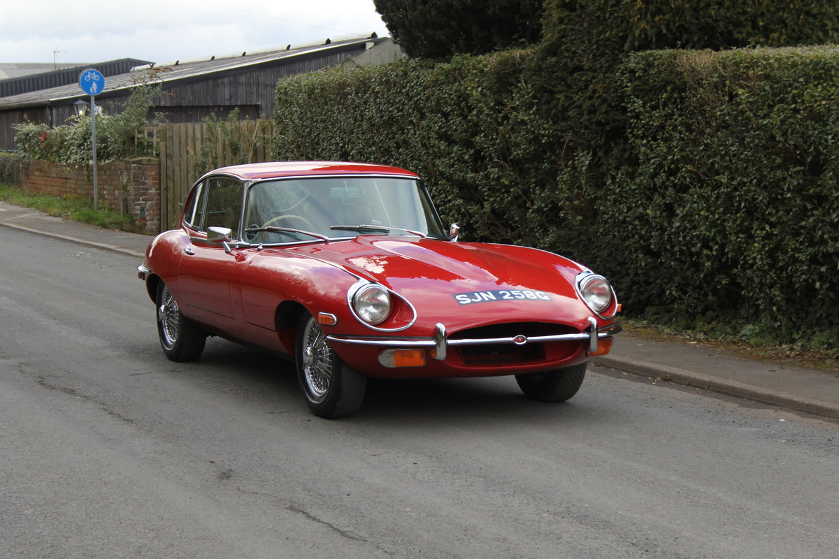 1969 Jaguar E-Type Series II 2+2 - Manual, Matching Numbers For Sale (picture 1 of 19)