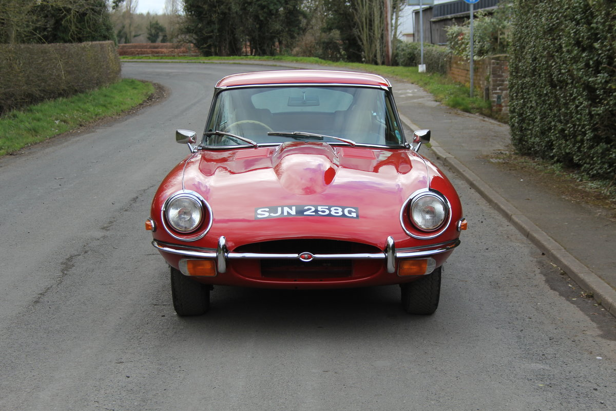 1969 Jaguar E-Type Series II 2+2 - Manual, Matching Numbers For Sale (picture 2 of 19)