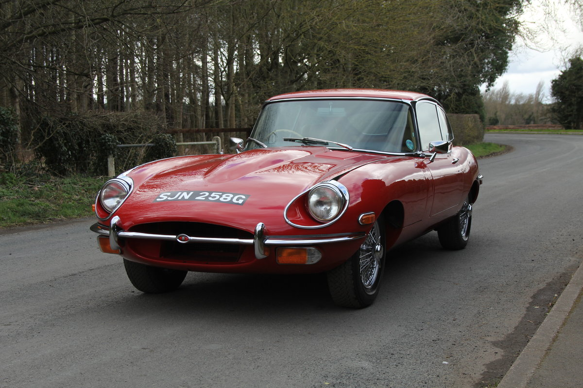 1969 Jaguar E-Type Series II 2+2 - Manual, Matching Numbers For Sale (picture 3 of 19)