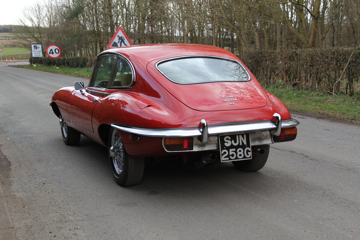 1969 Jaguar E-Type Series II 2+2 - Manual, Matching Numbers For Sale (picture 4 of 19)