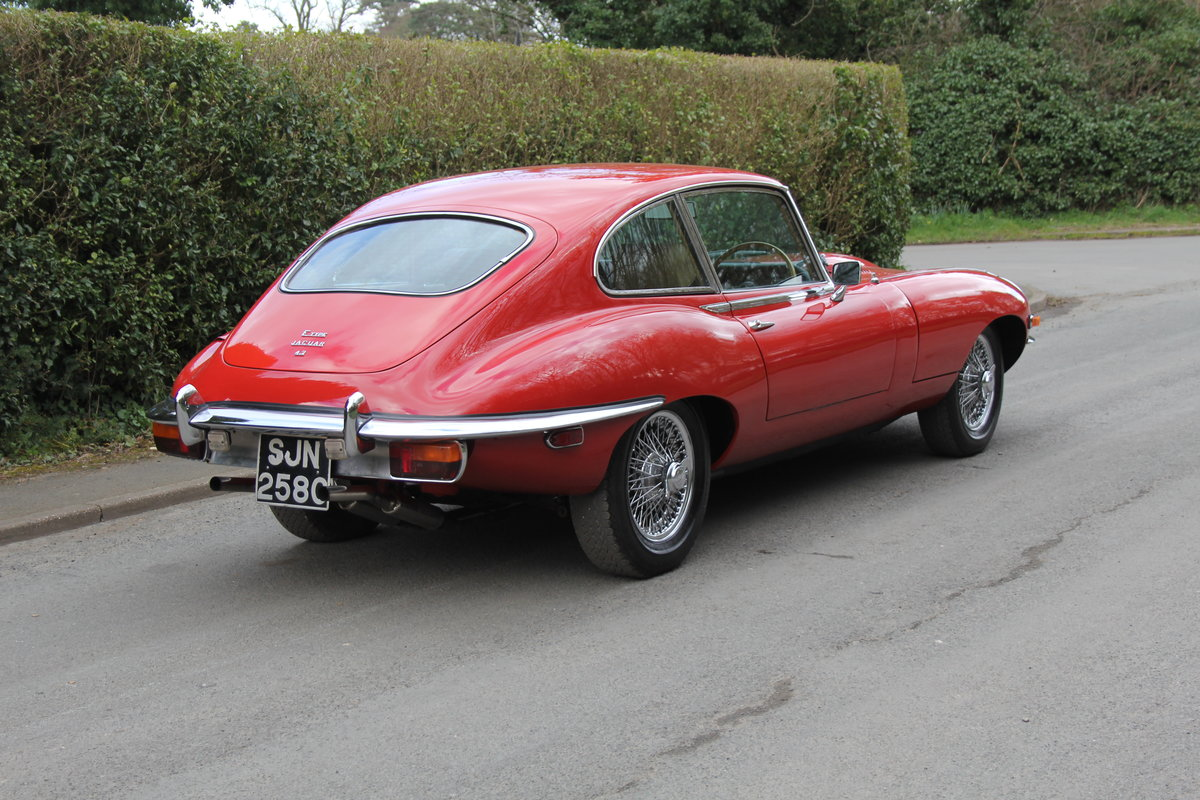 1969 Jaguar E-Type Series II 2+2 - Manual, Matching Numbers For Sale (picture 5 of 19)