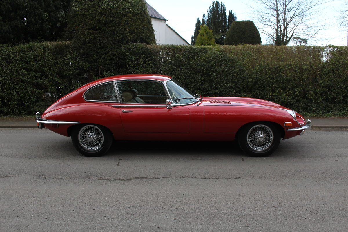 1969 Jaguar E-Type Series II 2+2 - Manual, Matching Numbers For Sale (picture 6 of 19)