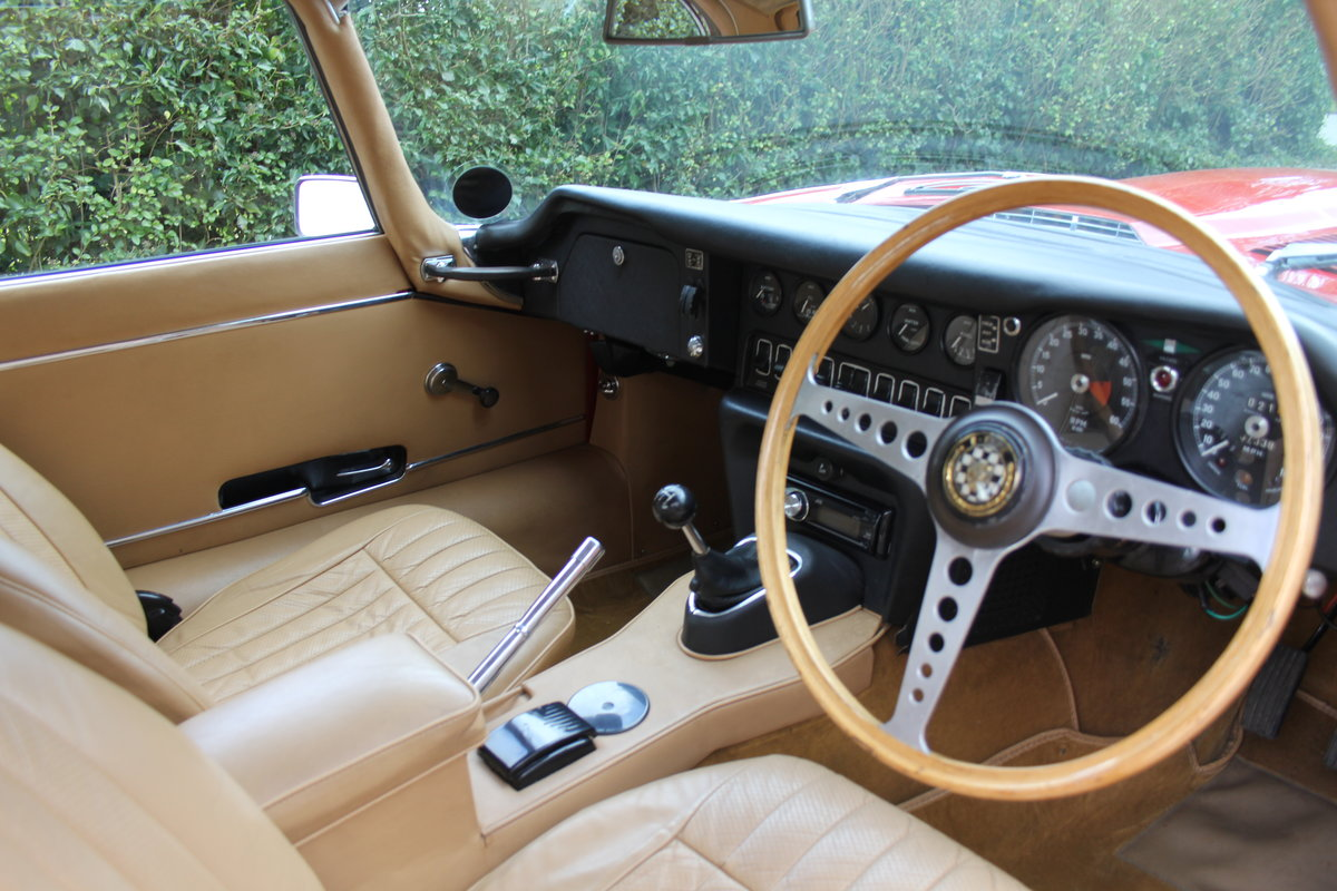 1969 Jaguar E-Type Series II 2+2 - Manual, Matching Numbers For Sale (picture 7 of 19)