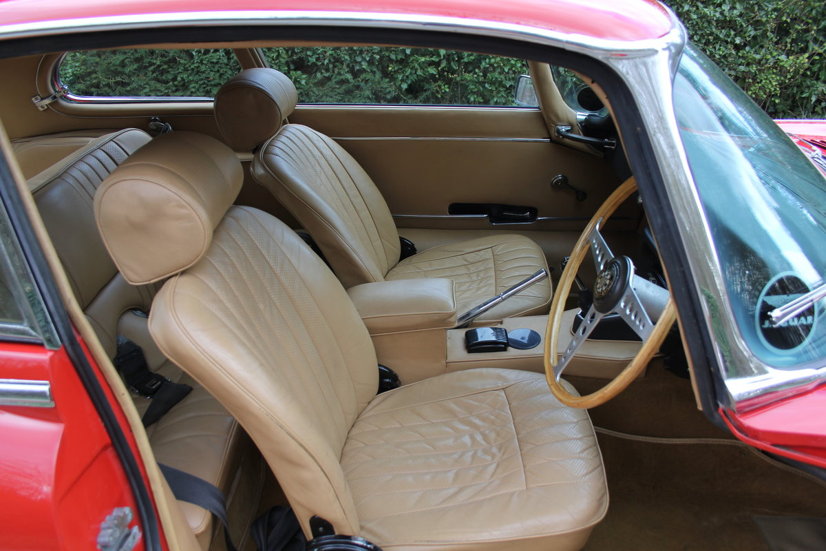 1969 Jaguar E-Type Series II 2+2 - Manual, Matching Numbers For Sale (picture 8 of 19)