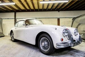 1960 Jaguar xk 150 manual 3.4