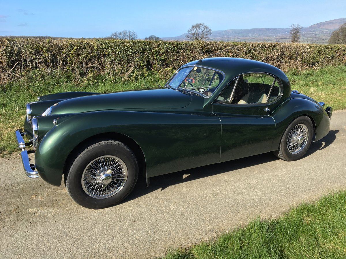 1953 Jaguar XK120 Fixed Head Coupe For Sale | Car And Classic