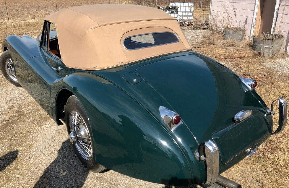 1954 COMING SOON - JAGUAR XK120 DHC ( SENSIBLE PRICE ) For Sale (picture 2 of 6)