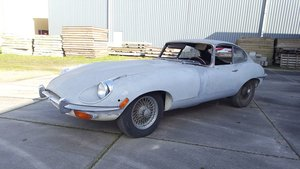 Jaguar E-type S2 2-seater Coupé 1969 Restoration project For Sale
