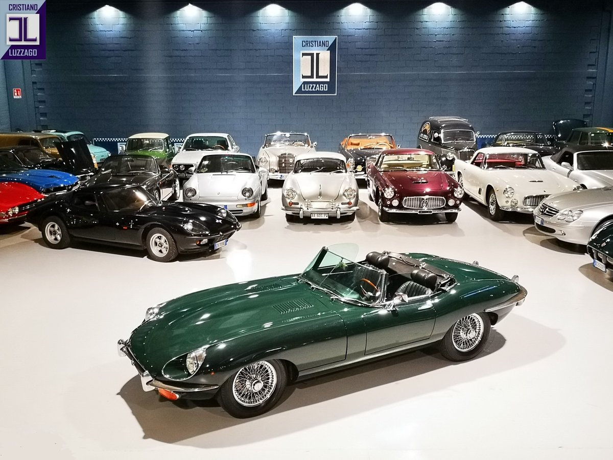1969 JAGUAR E TYPE 4.200  ROADSTER  Euro 84.800 For Sale (picture 1 of 6)