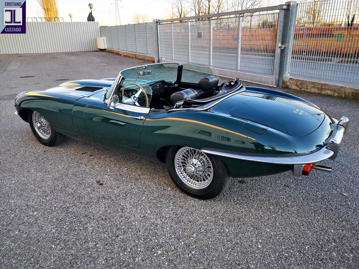 1969 JAGUAR E TYPE 4.200  ROADSTER  Euro 84.800 For Sale (picture 4 of 6)