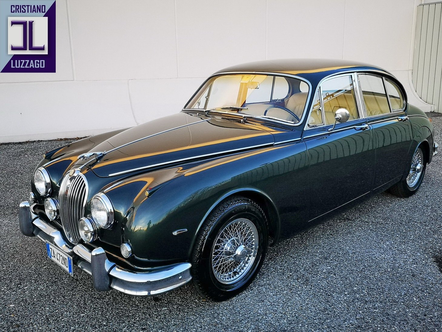 1964  JAGUAR MK2 3.800 VERY RECENTLY TOTALLY RESTORED For Sale (picture 2 of 6)