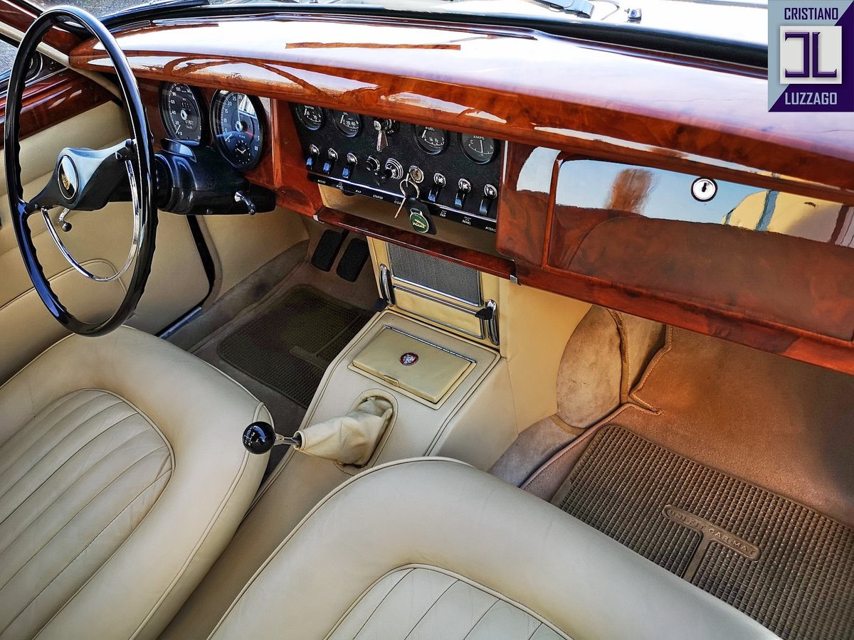 1964  JAGUAR MK2 3.800 VERY RECENTLY TOTALLY RESTORED For Sale (picture 5 of 6)
