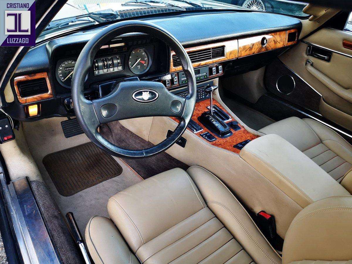 1988  JAGUAR XJ SC 5300 V 12  ORIGINAL ITALIAN CAR, 2 OWNERS  For Sale (picture 4 of 6)