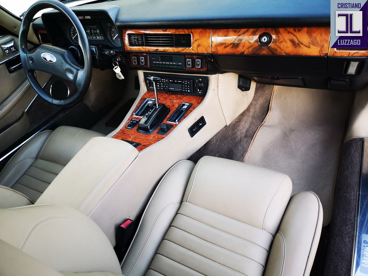 1988  JAGUAR XJ SC 5300 V 12  2 OWNERS euro 29800 For Sale (picture 6 of 6)