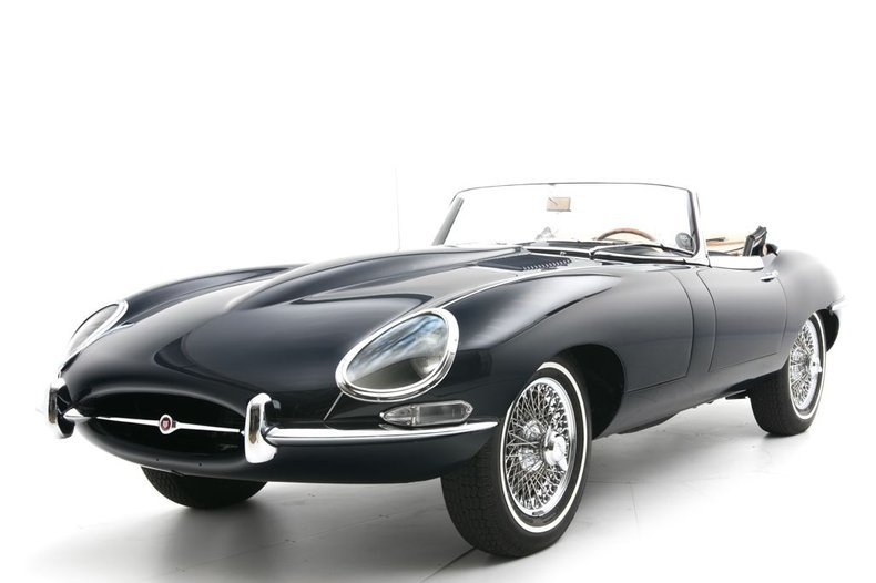 1966 Jaguar E-Type Roadster Convertible 4.2Liter Full Rest For Sale (picture 1 of 6)