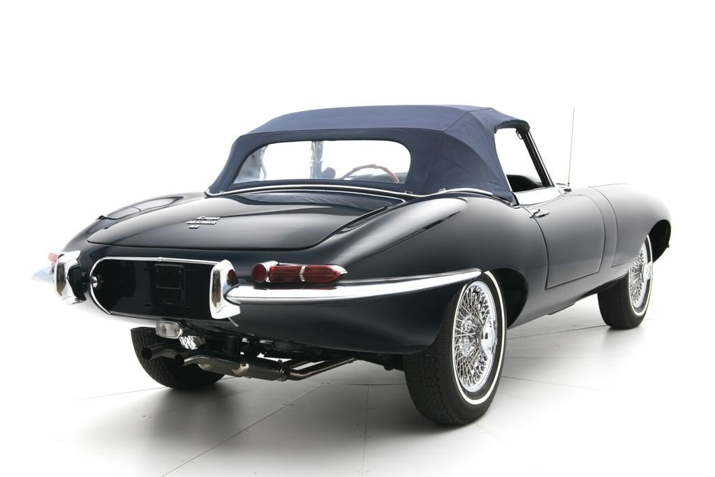 1966 Jaguar E-Type Roadster Convertible 4.2Liter Full Rest For Sale (picture 2 of 6)