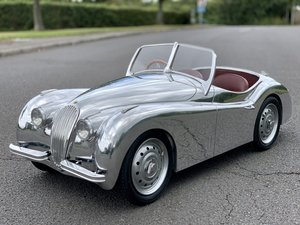 Aluminium Jaguar XK Childs Toy Ride On Pedal Car M