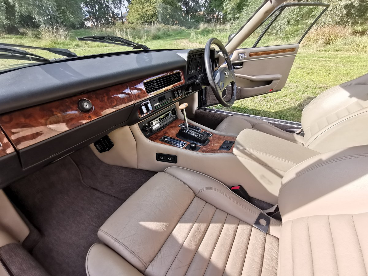 1989 Stunning completely original low miles xjs v12 For Sale (picture 6 of 6)
