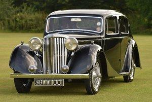 1938 SS 1 1/2 litre Jaguar Saloon For Sale