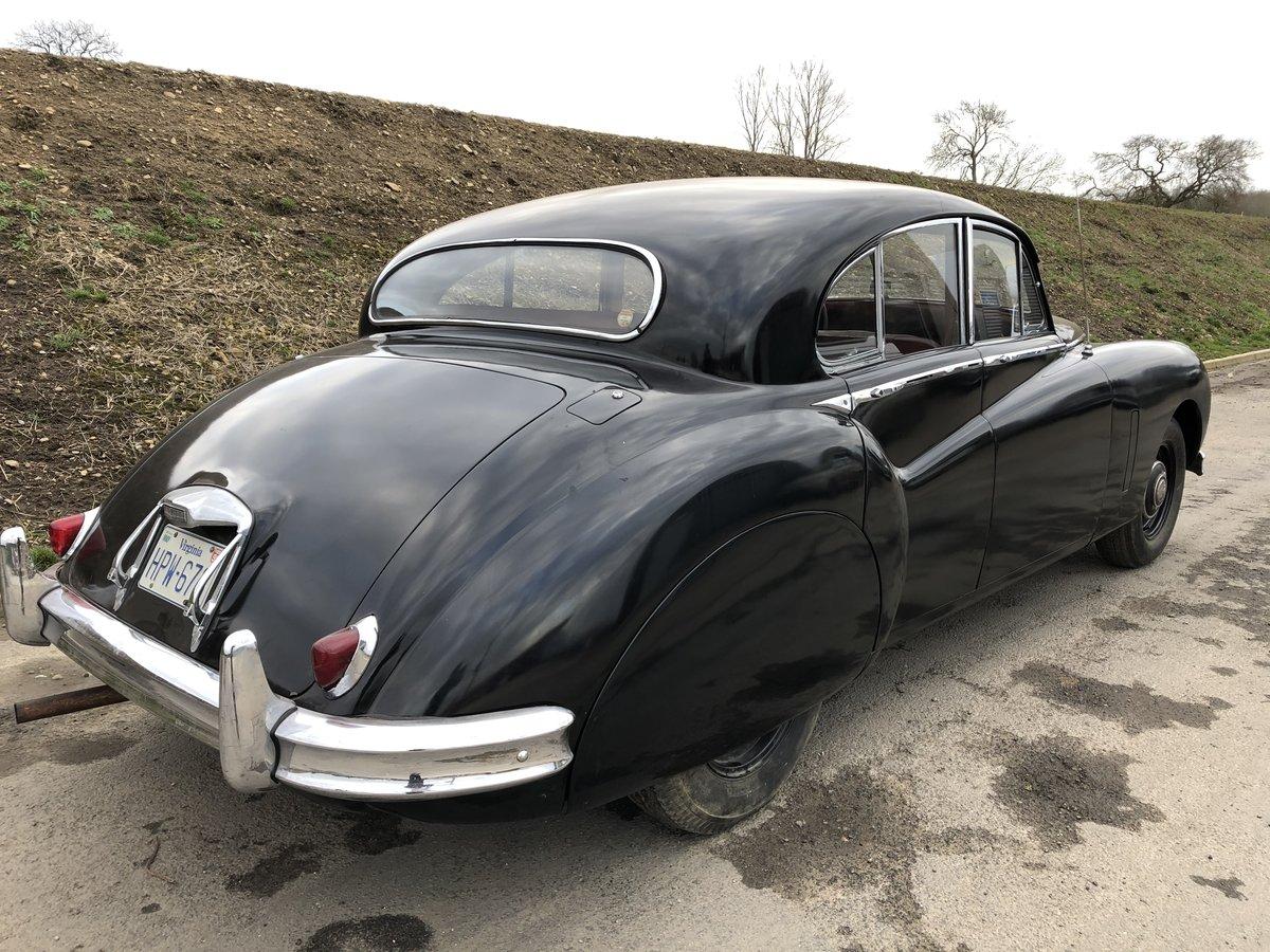 1954 Jaguar MK7 3.4 Saloon - Man +O/D ~ LHD SOLD (picture 2 of 6)