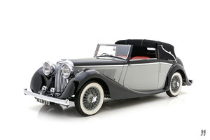 1938 SS JAGUAR 2 1/2 LITRE DROPHEAD COUPE For Sale