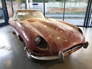 Project 1962 Jaguar E Type 3.8L For Sale