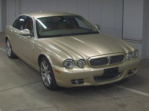 Jaguar Sovereign 4.2 2008 54k miles Winter Gold For Sale
