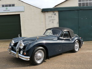 1956 Jaguar XK140 DHC SE, upgraded, matching numbers For Sale