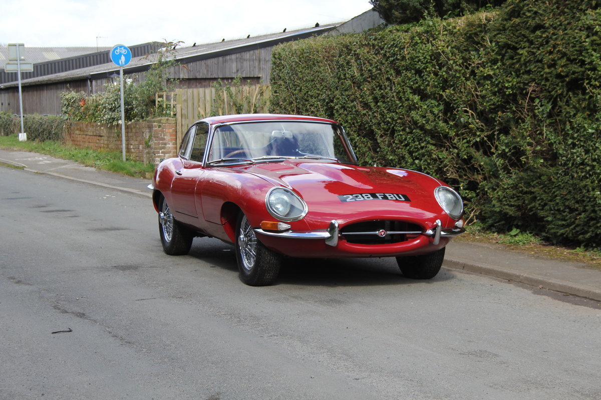 1963 Jaguar E-Type Series One 3.8 FHC Very Original, Matching Nos For Sale (picture 1 of 18)