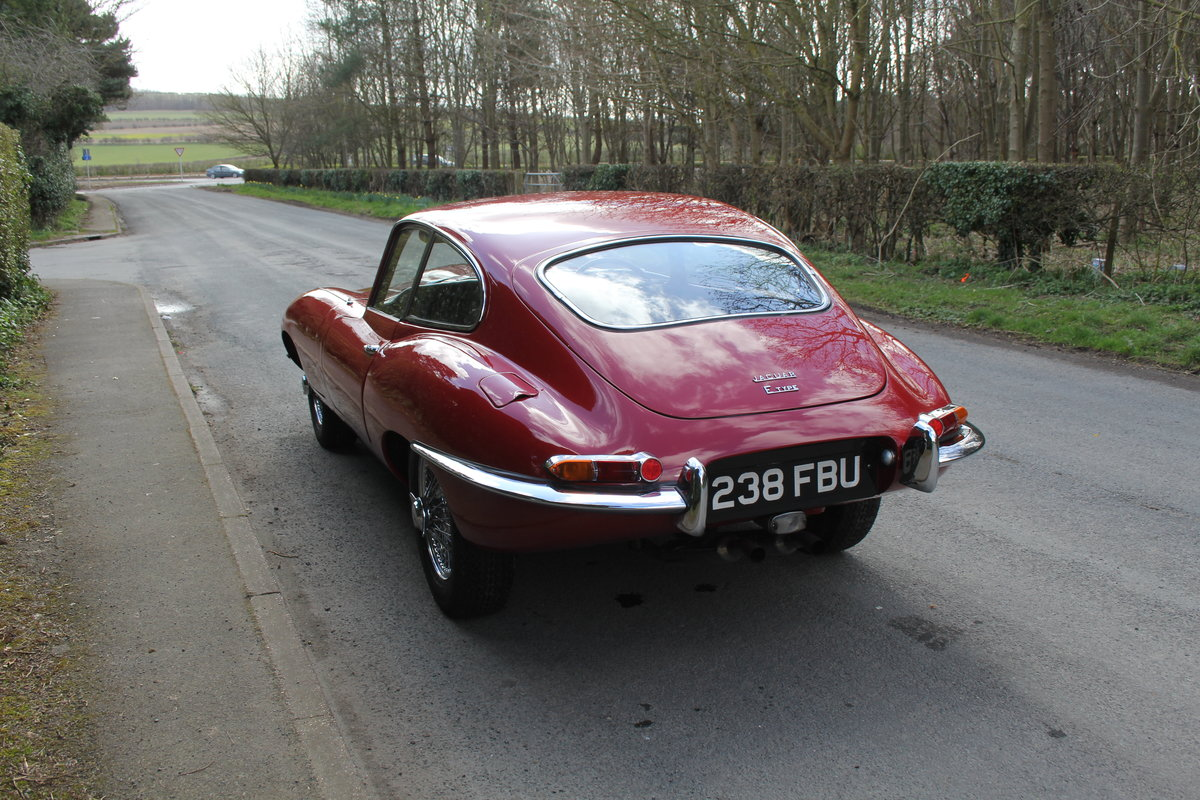 1963 Jaguar E-Type Series One 3.8 FHC Very Original, Matching Nos For Sale (picture 4 of 18)