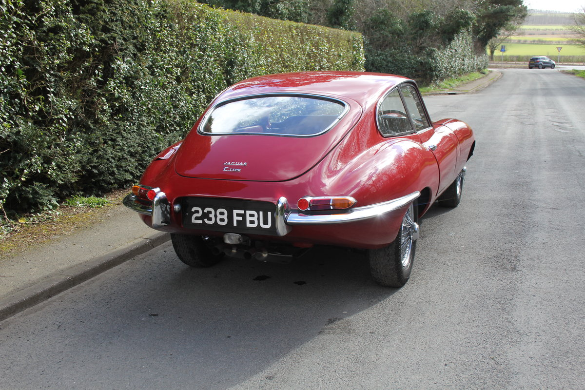 1963 Jaguar E-Type Series One 3.8 FHC Very Original, Matching Nos For Sale (picture 6 of 18)