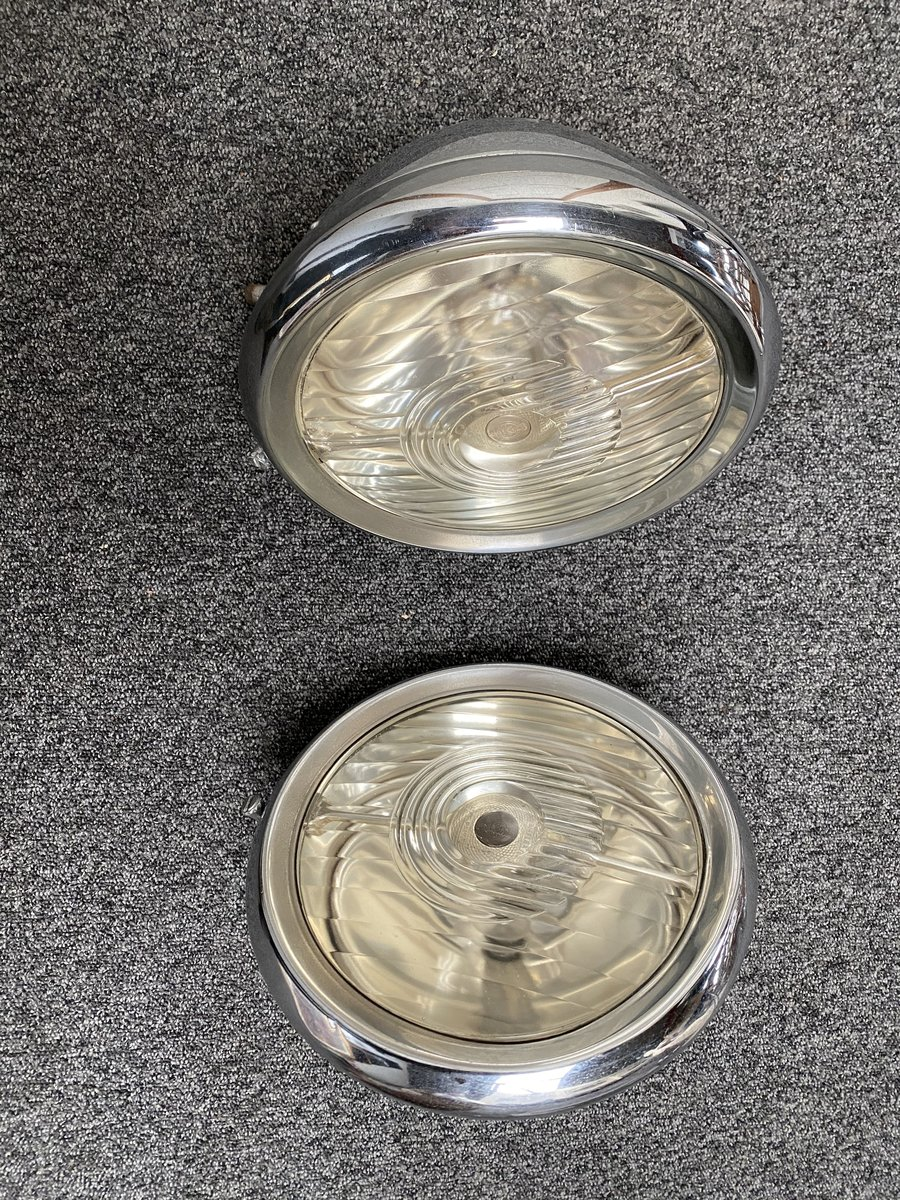 1930 Joseph Lucas Head Lamps For Sale (picture 1 of 6)